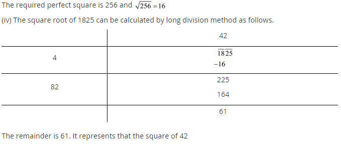 NCERT Solutions for Class 8 Maths Chapter 6 Squares and Square Roots Ex 6.4 q-5.2
