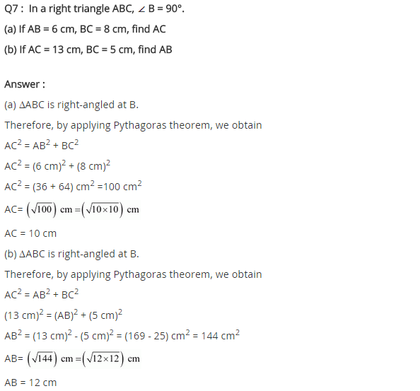 NCERT Solutions for Class 8 Maths Chapter 6 Squares and Square Roots Ex 6.4 q-7