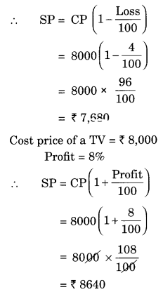 NCERT Solutions for Class 8 Maths Chapter 8 Comparing Quantities Ex 8.2 Q5.1
