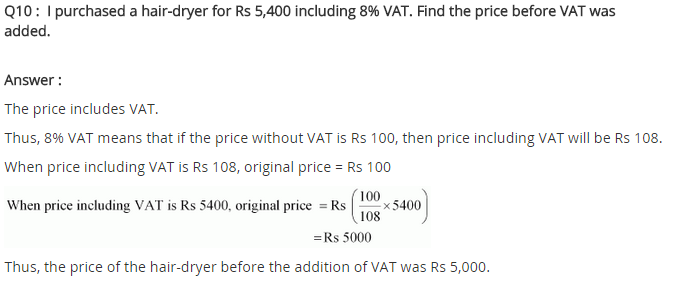 NCERT Solutions for Class 8 Maths Chapter 8 Comparing Quantities Ex 8.2 q-10