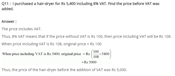 NCERT Solutions for Class 8 Maths Chapter 8 Comparing Quantities Ex 8.2 q-11