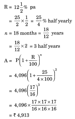 NCERT Solutions for Class 8 Maths Chapter 8 Comparing Quantities Ex 8.3 Q9