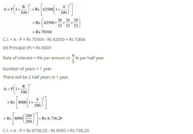 NCERT Solutions for Class 8 Maths Chapter 8 Comparing Quantities Ex 8.3 q-1.2