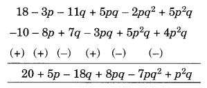 NCERT Solutions for Class 8 Maths Chapter 9 Algebraic Expressions and Identities Ex 9.1 Q4.2