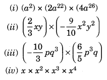 NCERT Solutions for Class 8 Maths Chapter 9 Algebraic Expressions and Identities Ex 9.3 Q3