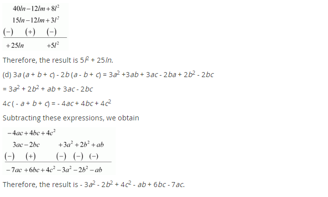 NCERT Solutions for Class 8 Maths Chapter 9 Algebraic Expressions and Identities Ex 9.3 q-5.1
