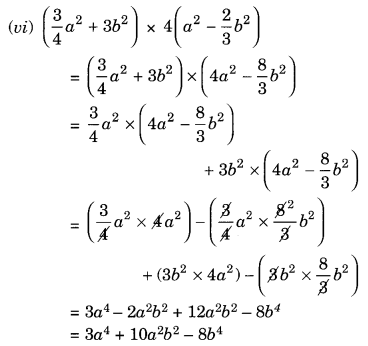 NCERT Solutions for Class 8 Maths Chapter 9 Algebraic Expressions and Identities Ex 9.4 Q1