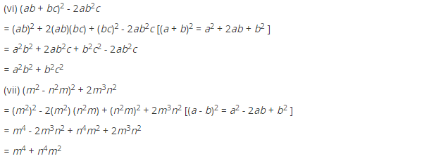 NCERT Solutions for Class 8 Maths Chapter 9 Algebraic Expressions and Identities Ex 9.5 q-4.1