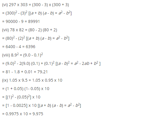 NCERT Solutions for Class 8 Maths Chapter 9 Algebraic Expressions and Identities Ex 9.5 q-6.1