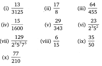 NCERT Solutions for Class 10 Maths Chapter 1 Real Numbers Ex 1.4 Q1