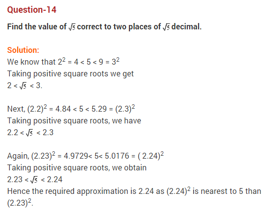 Real Numbers Class 10 Extra Questions Maths Chapter 1 Q14