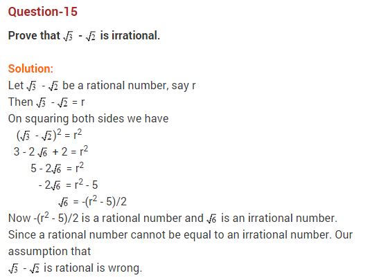 Real Numbers Class 10 Extra Questions Maths Chapter 1 Q15