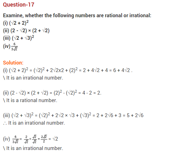 Real Numbers Class 10 Extra Questions Maths Chapter 1 Q17
