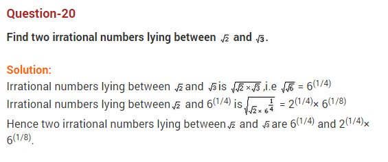 Real Numbers Class 10 Extra Questions Maths Chapter 1 Q20