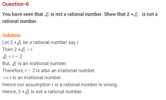 Real Numbers Class 10 Extra Questions Maths Chapter 1 Q6