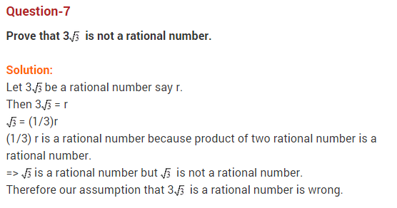Real Numbers Class 10 Extra Questions Maths Chapter 1 Q7