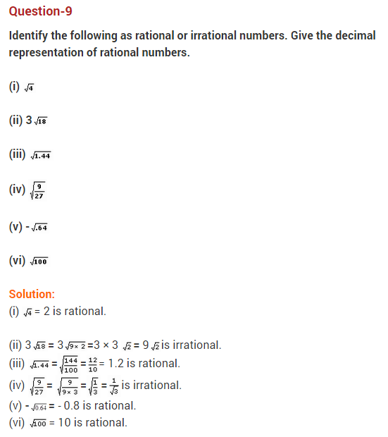 Real Numbers Class 10 Extra Questions Maths Chapter 1 Q9