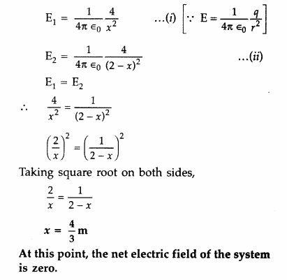Important Questions for Class 12 Physics Chapter 1 Electric Charges and Fields Class 12 Important Questions 116