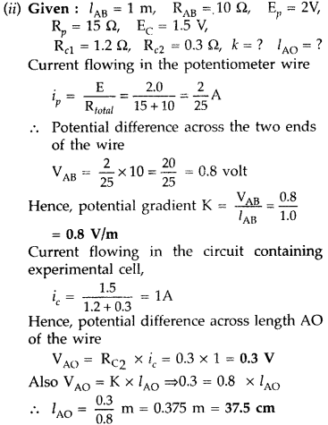 Important Questions for Class 12 Physics Chapter 3 Current Electricity Class 12 Important Questions 203