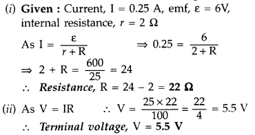 Important Questions for Class 12 Physics Chapter 3 Current Electricity Class 12 Important Questions 38