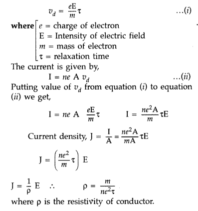 Important Questions for Class 12 Physics Chapter 3 Current Electricity Class 12 Important Questions 76
