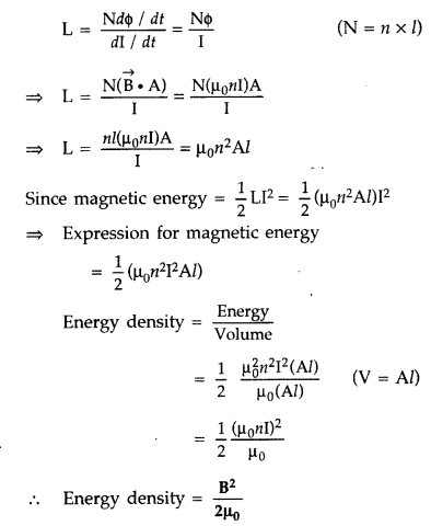Important Questions for Class 12 Physics Chapter 6 Electromagnetic Induction Class 12 Important Questions 44