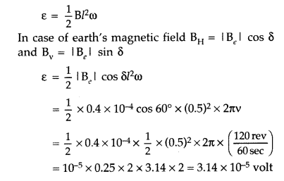 Important Questions for Class 12 Physics Chapter 6 Electromagnetic Induction Class 12 Important Questions 49