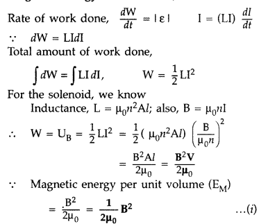 Important Questions for Class 12 Physics Chapter 6 Electromagnetic Induction Class 12 Important Questions 62