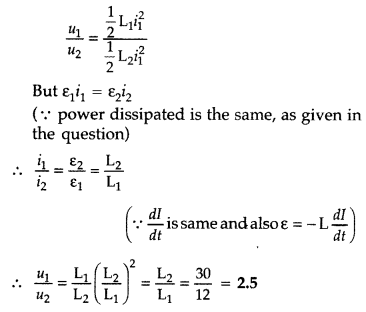 Important Questions for Class 12 Physics Chapter 6 Electromagnetic Induction Class 12 Important Questions 67