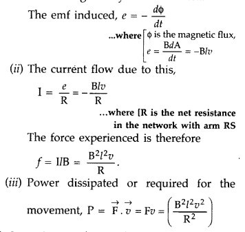 Important Questions for Class 12 Physics Chapter 6 Electromagnetic Induction Class 12 Important Questions 69