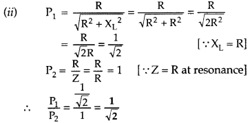 Important Questions for Class 12 Physics Chapter 7 Alternating Current Class 12 Important Questions 103