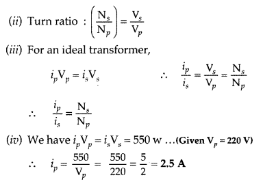 Important Questions for Class 12 Physics Chapter 7 Alternating Current Class 12 Important Questions 107