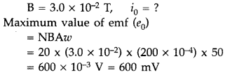Important Questions for Class 12 Physics Chapter 7 Alternating Current Class 12 Important Questions 109