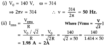 Important Questions for Class 12 Physics Chapter 7 Alternating Current Class 12 Important Questions 24