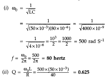 Important Questions for Class 12 Physics Chapter 7 Alternating Current Class 12 Important Questions 27