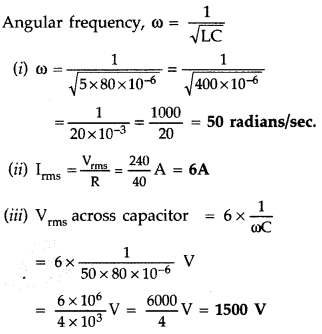 Important Questions for Class 12 Physics Chapter 7 Alternating Current Class 12 Important Questions 31