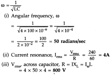 Important Questions for Class 12 Physics Chapter 7 Alternating Current Class 12 Important Questions 32