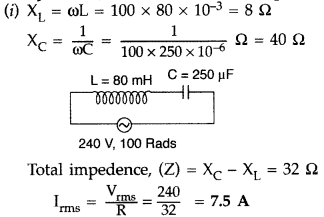 Important Questions for Class 12 Physics Chapter 7 Alternating Current Class 12 Important Questions 47