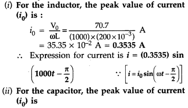 Important Questions for Class 12 Physics Chapter 7 Alternating Current Class 12 Important Questions 58