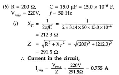Important Questions for Class 12 Physics Chapter 7 Alternating Current Class 12 Important Questions 65