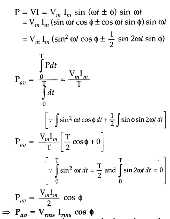 Important Questions for Class 12 Physics Chapter 7 Alternating Current Class 12 Important Questions 71