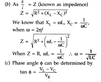 Important Questions for Class 12 Physics Chapter 7 Alternating Current Class 12 Important Questions 81
