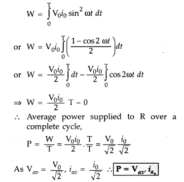 Important Questions for Class 12 Physics Chapter 7 Alternating Current Class 12 Important Questions 92