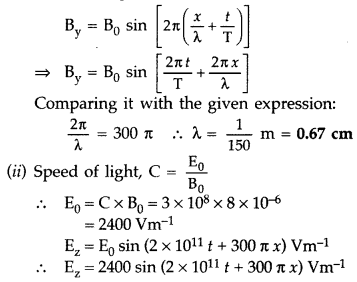 Important Questions for Class 12 Physics Chapter 8 Electromagnetic Waves Class 12 Important Questions 3