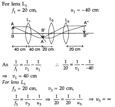 Important Questions for Class 12 Physics Chapter 9 Ray Optics and Optical Instruments Class 12 Important Questions 108