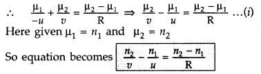 Important Questions for Class 12 Physics Chapter 9 Ray Optics and Optical Instruments Class 12 Important Questions 114