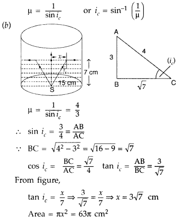 Important Questions for Class 12 Physics Chapter 9 Ray Optics and Optical Instruments Class 12 Important Questions 142