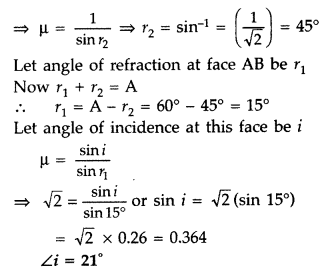 Important Questions for Class 12 Physics Chapter 9 Ray Optics and Optical Instruments Class 12 Important Questions 151