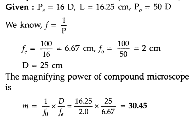 Important Questions for Class 12 Physics Chapter 9 Ray Optics and Optical Instruments Class 12 Important Questions 156