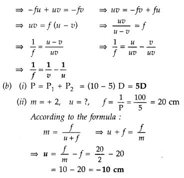 Important Questions for Class 12 Physics Chapter 9 Ray Optics and Optical Instruments Class 12 Important Questions 161